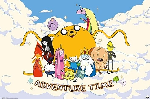 Pyramid International Maxi Poster Adventure Time Cloud Renkli